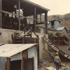 a large mill at the Betty O' Neal mine