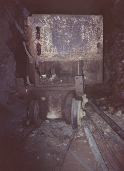 one of many ore carts